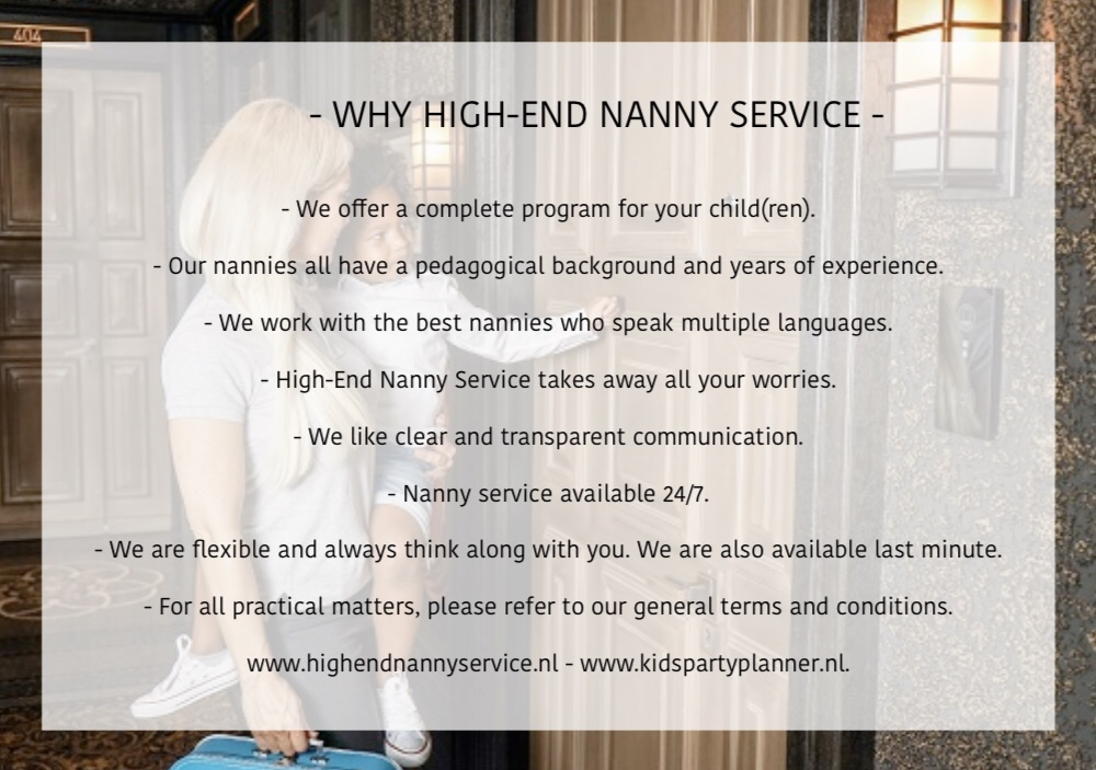 Why High-End Nanny Service?